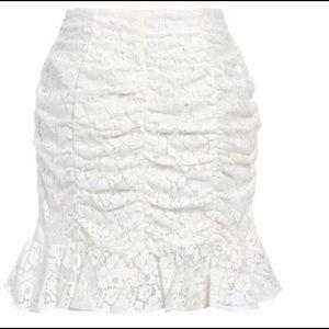 Lieth Floral Lace Skirt size L